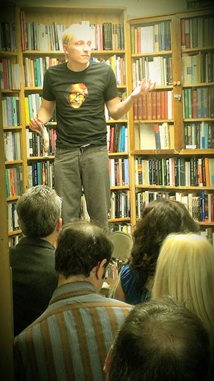 Scotch Wichmann reads from Two Performance Artists in San Francisco