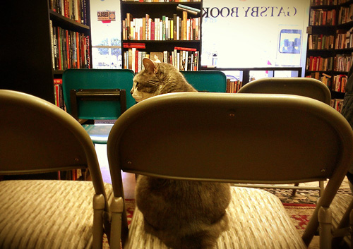 Ruby waiting for Scotch Wichmann to begin reading