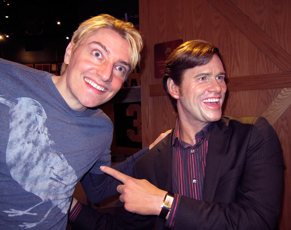 Scotch Wichmann with Jim Carrey